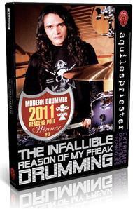DVD Aquiles Priester - Infallible Reason of my Freak Drumming