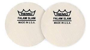 Pad de Bumbo Remo Kit c/ 2 Falam Slam KS-0002 Pad Kick Protetor de Pele de Bumbo Pedal Single 10391