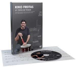 DVD Kiko Freitas #1 Tipos de Toque com Solos e Bônus