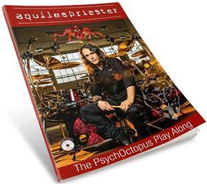 Livro e CD Aquiles Priester The PsychOctopus Play Along com Trilhas em CD para Tocar Junto