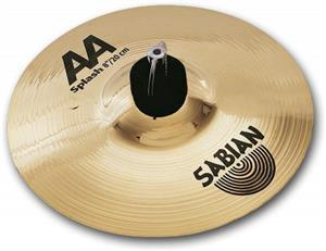 Splash Sabian AA Brilliant 08""