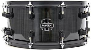"Caixa Mapex MPX Maple Midnight Black Lacquer 14x6,5"" com 10 Afinações"