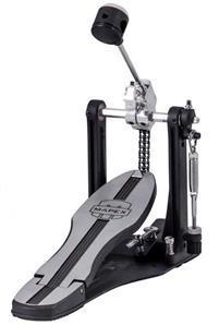 Pedal Single Mapex P600 Mars Series Dual Chain Drive com Corrente Dupla e Base Fixa