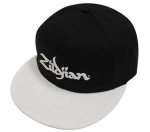 Boné Zildjian Hat Classic Flat Bill Black White T4542