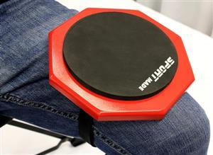 """Pad de Estudo Sport Made Velcro 008RD Compacto com 6"""" para Fixar na Perna"""