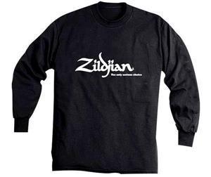 Camiseta Zildjian Black Manga Longa T4122 Tamanho Médio (M)