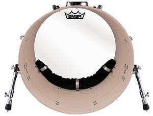 """Abafador de Bumbo Remo Bass Drum Muffing HK-MUFF-22 p/ Bumbos 24"""" ou 22"""" Sistema Completo de Fixação"""