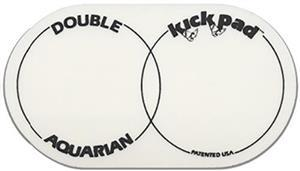 Pad de Bumbo Aquarian DKP2 para Pedal Duplo Pad Kick