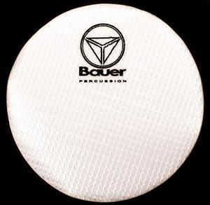 Pad de Bumbo Bauer by Torelli BAU83 Kevlar Heavy Pad Kick para Pedal Single Padrão Remo Falam Slam