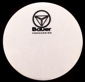 Pad de Bumbo Bauer by Torelli BAU84 Pad Kick em Poliéster para Pedal Single
