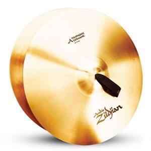 "Par de Pratos Sinfônicos Zildjian Avedis Symphonic German Tone 20"" (Orquestra e Banda Marcial)"