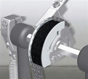 Pearl CAM-WT Branca Polia para Pedal Eliminator com Curva Comprida Mais Macio, Leve e Clássico