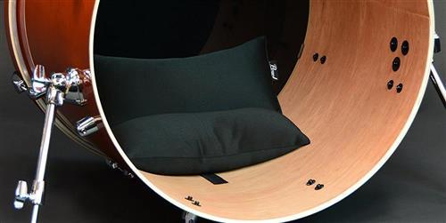 Abafador de Bumbo Pearl BDM-M Médio Bass Drum Muffler Medium Size Compatível com diversas medidas