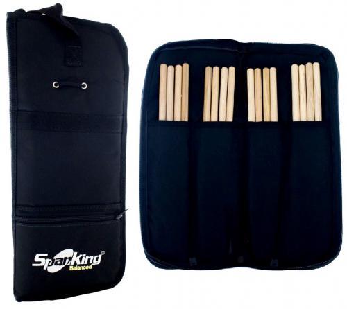 Bag de Baquetas Spanking Black Compacto com Divisórias Internas (111327)