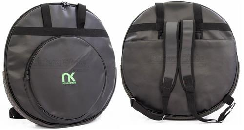 """Bag de Pratos NK NewKeepers Eco Couro Sintético Padrão Top de Linha para Pratos até 22"""""""