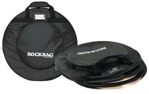 """Bag de Pratos Rockbag RB 22440B para Pratos até 22"""" com Diversas Divisões"""