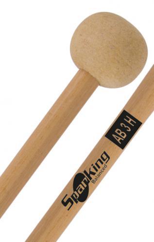 "Baqueta Spanking Linha Drums Corp AB3H para Bumbo de 20"" a 22"" (113702) Marching Band"