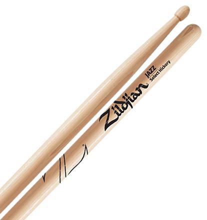 Baqueta Zildjian Select Hickory Jazz ZJZ (Padrão 7A)