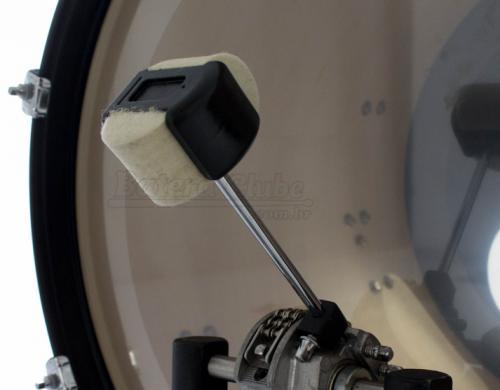 Batedor de Bumbo D-One PBD20 Quad Beater com 4 Faces e Memória (Peso)