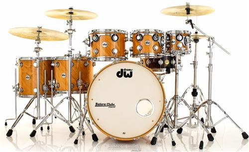 "Bateria DW Collectors Exotic Twisted Birch X-Shells Natural 23"",8"",10"",12"",14"",16"""