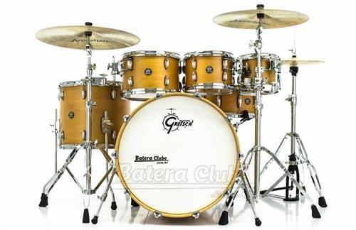 "Bateria Gretsch Marquee Maple Series Satin Natural 22"",8"",10"",12"",16"" com Caixa 14x6,5"" (Liquidação)"