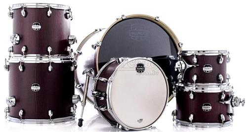 "Bateria Mapex Mars Crossover Plus MA528SF Bloodwood 22"",10"",12"",14"",16"" Caixa 14x6,5"" (Shell Pack)"