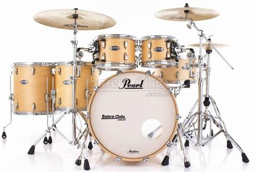 "Bateria Pearl Masters MCT Maple Complete Satin Natural 22"",10"",12"",14"",16"" Thin Shells"