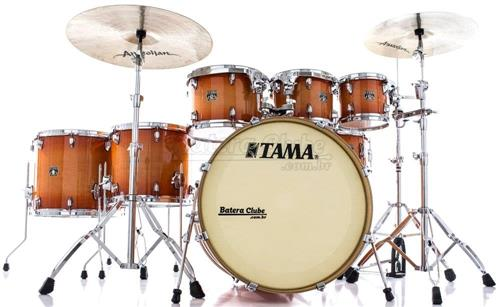 "Bateria Tama Superstar Classic Maple Tangerine 22"",8"",10"",12"",14"",16"" Caixa 14x6,5"" (Shell Pack)"
