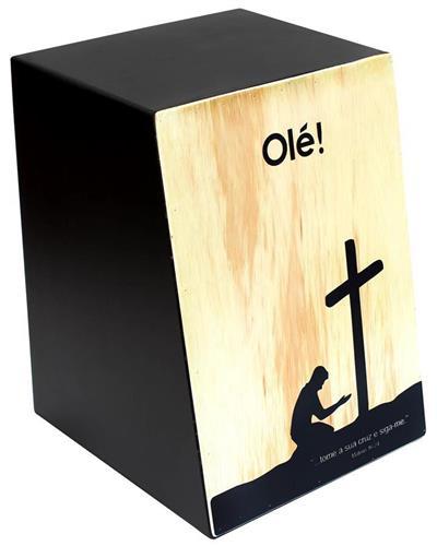 Cajón Olé Inclinado Aos Pés da Cruz OL124E Elétrico com Esteira 18 Fios