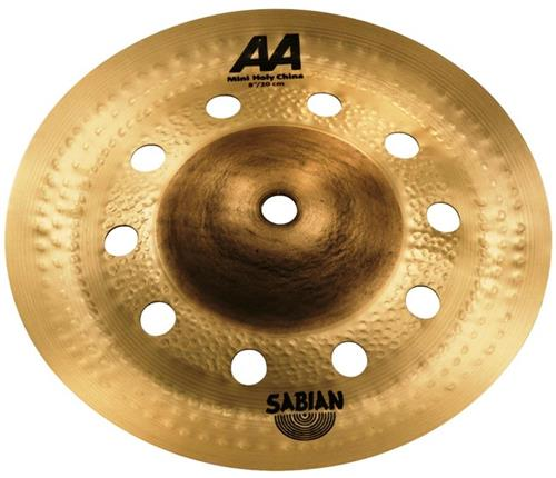 "China Mini Sabian Signature AA Holy Mini China 08"" Chad Smith"
