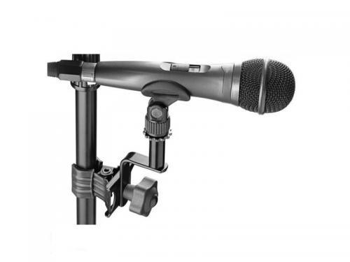 Clamp de Microfone Stagg SCL-MIA Compatível com Aros de Bateria e Percussão