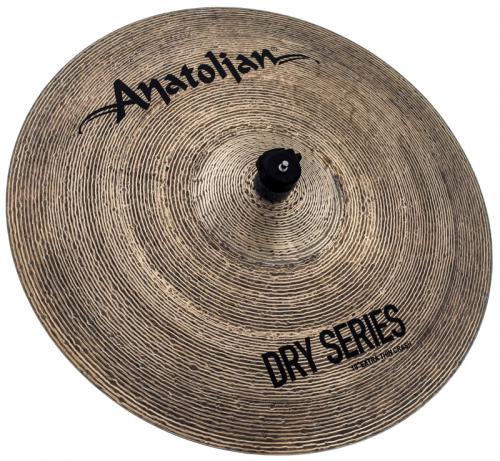 """Crash Anatolian Dry Series Extra Thin 19"""" Dark Slot Handmade Turkish"""