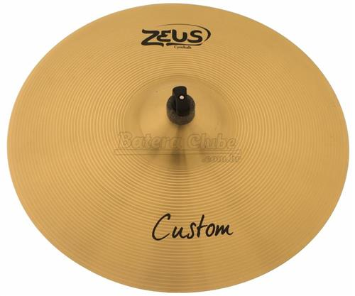 "Crash Zeus Custom Series Traditional 18"" em Bronze B20 ZCC18"