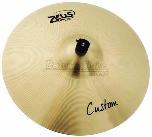 """Crash Zeus Custom Series Traditional 19"""" em Bronze B20 ZCC19"""
