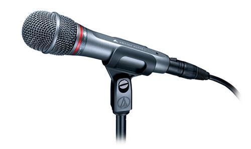 Microfone Audio-Technica Artist Elite Series AE6100 Dinâmico Hipercardióide p/ Vocal com Anti-Choque