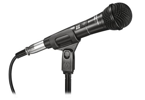 Microfone Audio-Technica Pro Series PRO 41 com Anti-Choque, Chave Liga/Desliga e Cabo de 4,50 metros