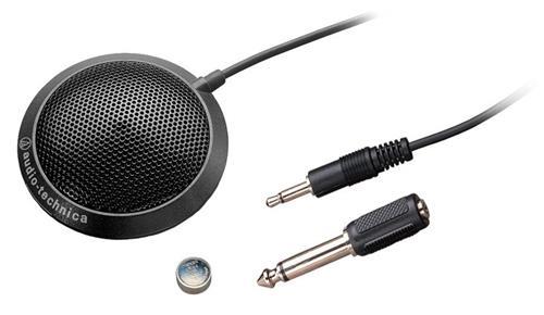 Microfone de Superfície Audio-Technica Atr Series ATR4697 Condensador Omnidirecional de Perfil Baixo