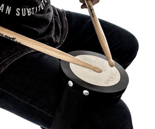 Pad de Estudo Nevada Drums com Fivela para Fixar na Perna e Sistema de Encaixe Confortável