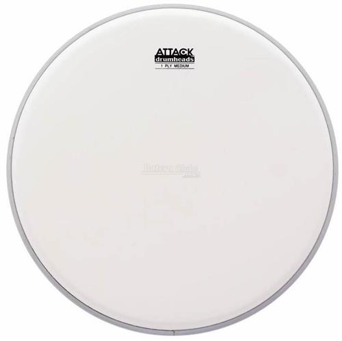 "Pele Attack Drumheads 1-Ply Medium Coated 16"" Filme Único Porosa DHA16C"