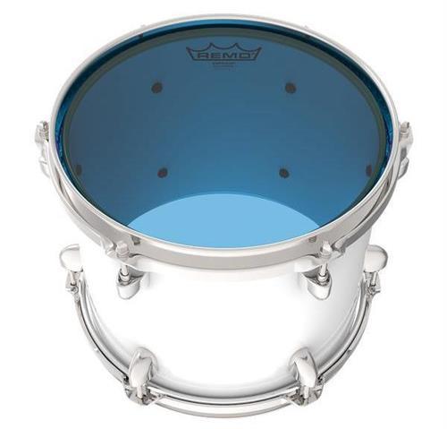 """Pele Remo Emperor Colortone Blue 18"""" com Filme Duplo Azul (15619)"""