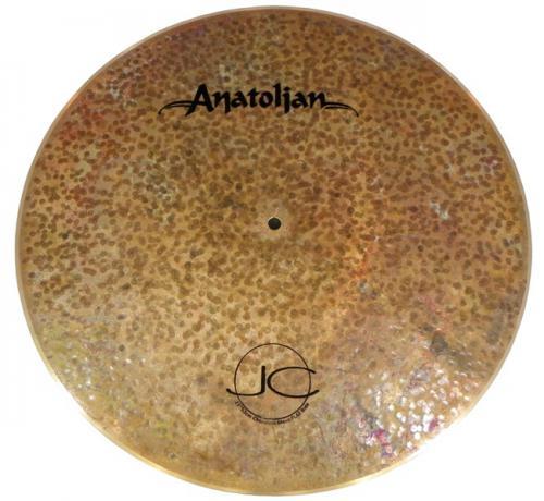 "Ride Anatolian Jazz Collection Chocolate Move Flat 21"" Handmade Turkish Sem Cúpula (Saldão)"