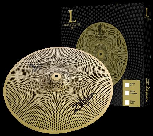 """Ride Zildjian Low Volume L80 20"""" LV8020R-S com Volume até 80% Menor"""