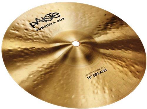 "Splash Paiste 602 Modern Essentials 10"" em Bronze B20"