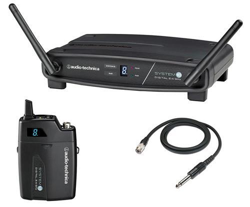 Transmissor Audio-Technica System 10 ATW-1101/G com Receptor Sem Fio Body Pack - FREQ. 2.4 GHZ