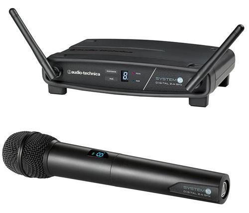 Transmissor Audio-Technica System 10 ATW-1102 com Receptor Sem Fio Bastão - FREQ. 2.4 GHZ
