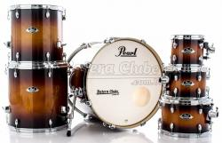 "Bateria Pearl Export EXL Lacquer Gloss Tobbaco Burst 20"",8"",10"",12"",14"",16"" (Shell Pack)"