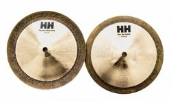 "Stax Sabian Max High Set 08"" Signature Mike Portnoy Kit com 2 Pratos de Efeito"