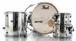 "Bateria Pearl Export EXX Series Mahogany Mirror Chrome 20"",10"",12"",14"" (Shell Pack)"