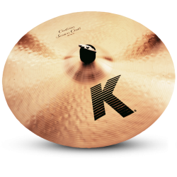 "Crash Zildjian K Custom Session 18"" Desenvolvido com Steve Gadd"
