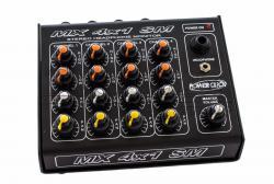 Power Click MX 4X1 SM Stereo Monitor Portátil com 4 Entradas, 4 Canais e Fonte de Energia